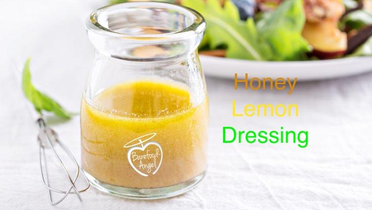 salad dressing honey lemon