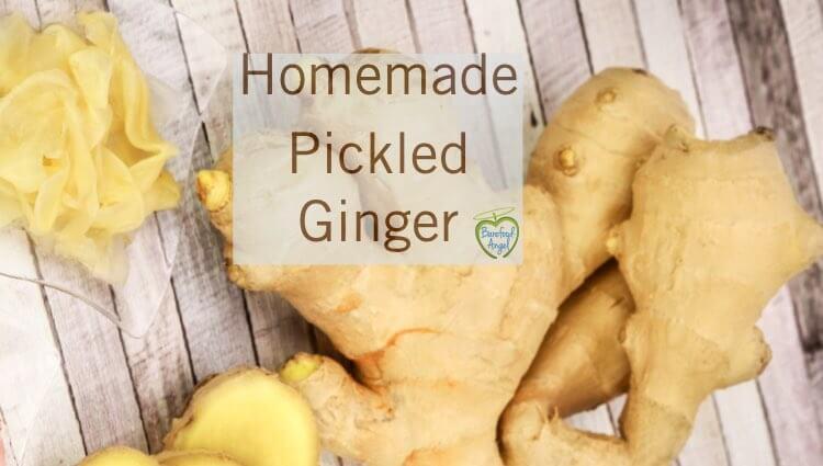 Homemade Pickled Ginger