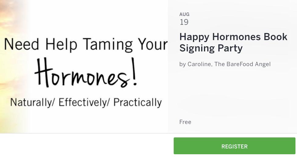happy hormones launch party